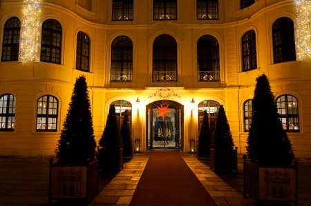 saxony: Taschenbergpalais, Saxony, Germany, Dresden Editorial