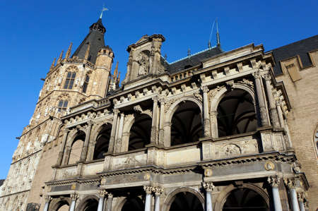 old town townhall: Historic City Hall, Cologne, North Rhine-Westphalia, Germany