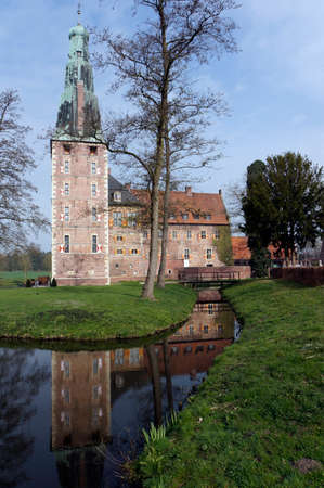 closed community: Water Raesfeld, North Rhine-Westphalia, Germany Editorial
