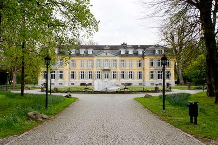 美術館シュロス Morsbroich、レバークーゼン、北のラインウエストファーレン, ドイツ
