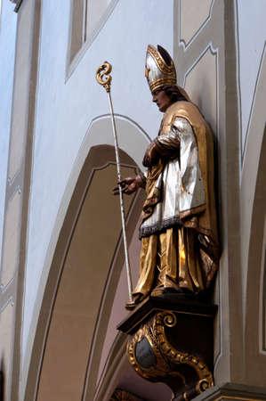 st  mark s: San Nicola ha ind Chiesa di San Marco s, Wittlich, Renania-Palatinato, Germania