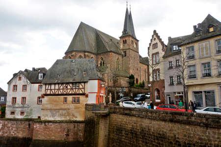 saar: Old Saar, Rhineland-Palatinate, Germany Editorial