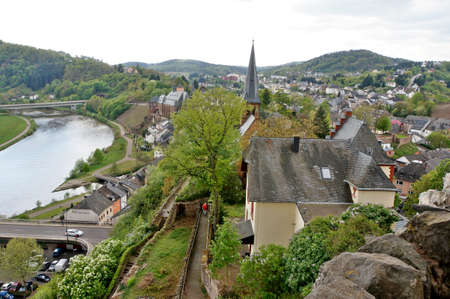 saar: View from the castle on the Saar, Rhineland-Palatinate, Germany