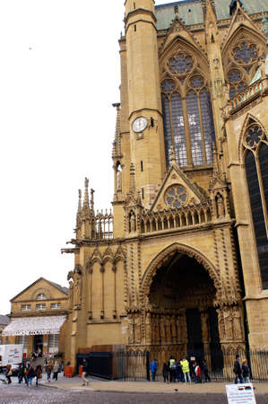 Cathedral of Saint Etienne, Metz, Lorraine, France, Redakční