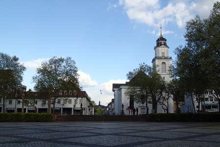 saarland: Peace Church Saarbruecken, Saarland, Germany Editorial