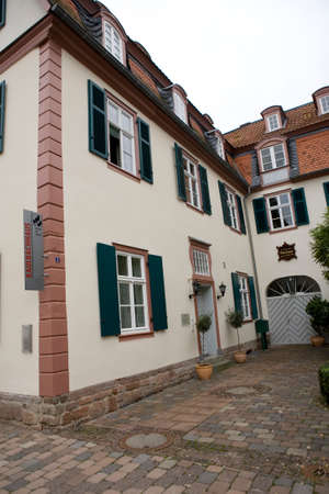 Museum in Kaulbach House, Bad Arolsen, Hesse, Germany