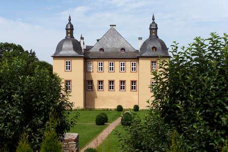 historically: Wasserburg Eick, Mechernich; North Rhine-Westphalia; Germany; Editorial
