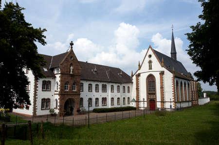 Cistercian Abbey Mariawald in Heimbach, North Rhine-Westphalia, Germany