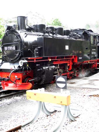 mecklenburg  western pomerania: Historical steam train Orlando Furioso, Ghren, Mecklenburg Western Pomerania, Germany, Rgen