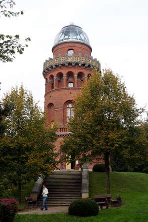 Ernst-Moritz-Arndt-tower, mountains on Rgen, Mecklenburg-Vorpommern, Germany
