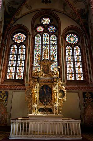 mecklenburg  western pomerania: St. Johns Church, Neubrandenburg, Mecklenburg-West Pomerania, Germany Editorial