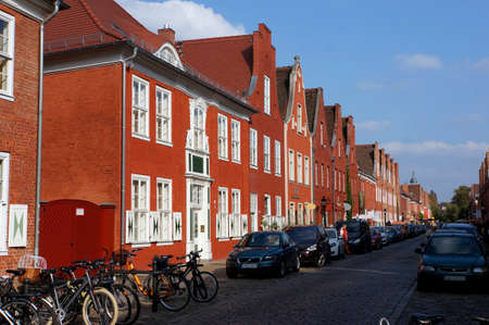 listed buildings: dutch quarter, Potsdam, Brandenburg, Germany Editorial
