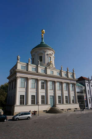 old town hall: Potsdam Museum in the old Town Hall, Potsdam, Brandenburg, Germany