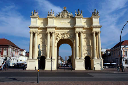 brandenburg: Brandenburg Gate in Potsdam, Brandenburg, Germany