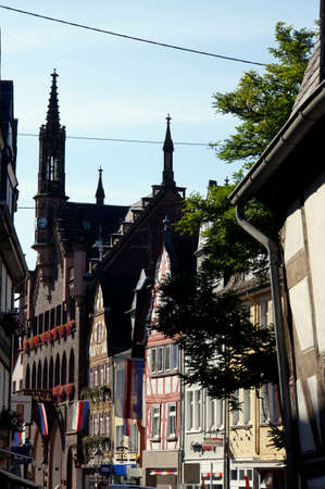 historic district: Half-timbered houses in the historic district, Montabaur, Rhineland-Palatinate