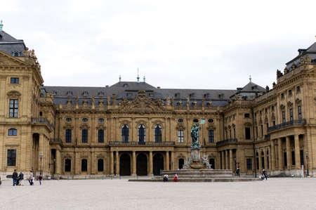 residenz: Residenz, Wurzburg, Bavaria, Germany Editorial