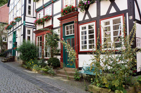 listed buildings: historic center, Werl, North Rhine-Westphalia, Germany