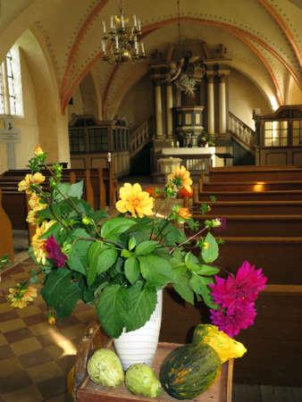 Brick church Zirkow, Rgen, Mecklenburg-Vorpommern, Germany Editorial