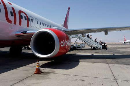 空港フルガダ国際空港エジプトでベルリン飛行機します。