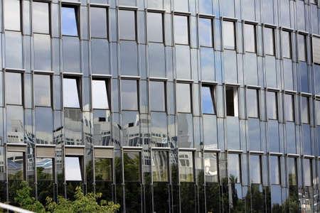 高層ビルのファサード、ベルリン、ドイツ