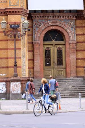 oficina antigua: antigua oficina de correos, Berl�n, Alemania Editorial
