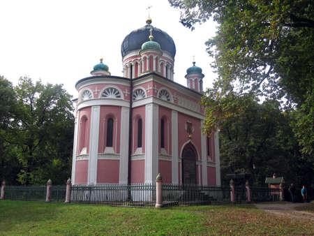 alexander: Russian Orthodox Alexander Nevsky Gedchtniskirche, Potsdam, Brandenburg, Germany Editorial