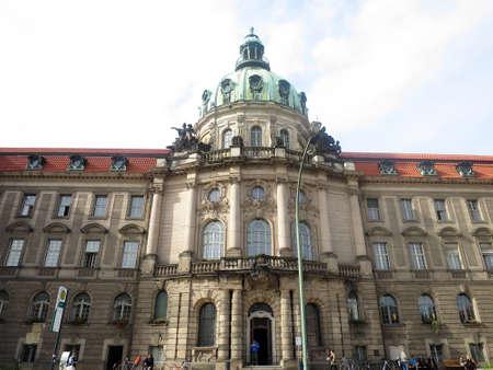 historically: Town Hall, Potsdam, Brandenburg, Germany Stock Photo