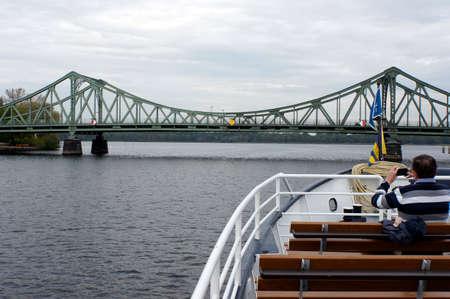 Glienicker Bridge, Potsdam, Brandenburg, Germany