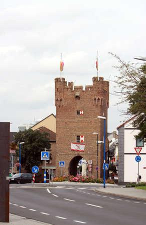 historically: Muenstertor, Zuelpich, North Rhine-Westphalia, Germany