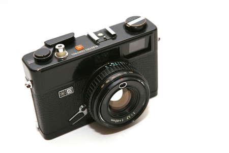 analogue: old analogue compact camera