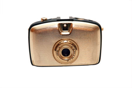 oude analoge compact camera