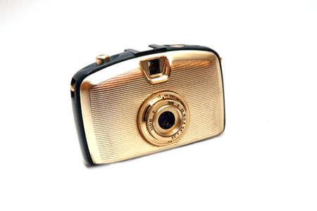 compact camera: old analogue compact camera