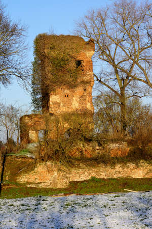baudenkmal: Brenter castle castle ruins, Weilerswist, North Rhine-Westphalia, Germany, Great-Slayer