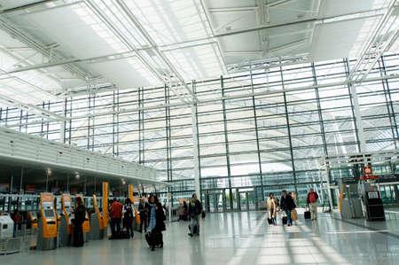 franz josef: Franz Josef Strauss Airport, Munich, Bavaria, Germany Editorial