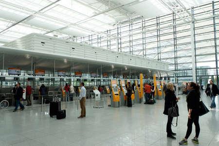 franz: Franz Josef Strauss Airport, Munich, Bavaria, Germany Editorial