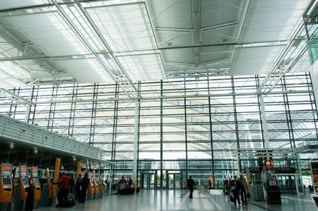 josef: Franz Josef Strauss Airport, Munich, Bavaria, Germany Editorial