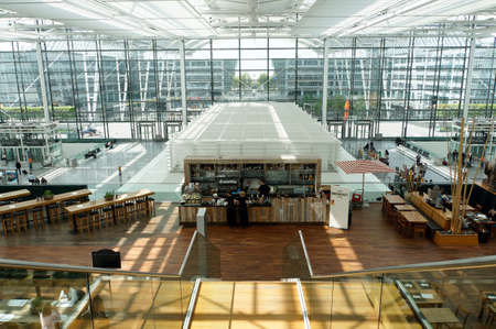 Franz Josef Strauss Airport, Munich, Bavaria, Germany Editorial