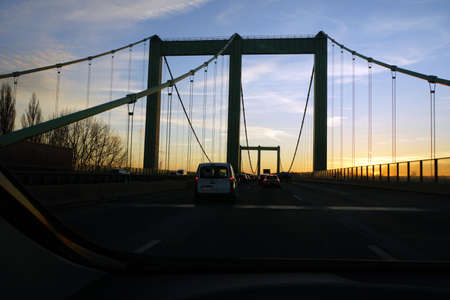 Rodenkirchener Bridge Bridge, K? Ln, North Rhine-Westphalia, Germany