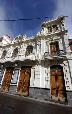 Teatro Leal, San Cristobal de La Laguna, Tenerife, Spain