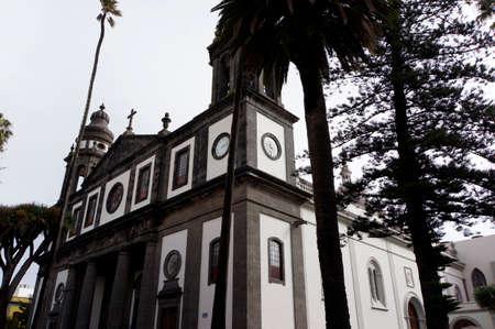Cathedral of Nuestra Señora de los Remedios, San Cristobal de La Laguna, Tenerife Reklamní fotografie