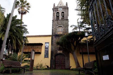 architecture alphabet: Iglesia San Augustine, San Cristobal de La Laguna, Tenerife, Spain