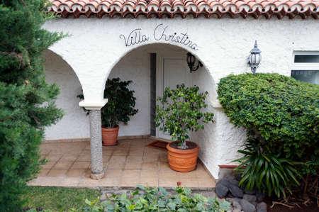 christina: Villa Christina, Los Realejos, Tenerife, Canary Islands, Spain Stock Photo