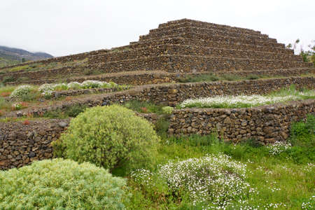 tenerife: Pyramids of Gimar, Tenerife, Canary Islands, Spain