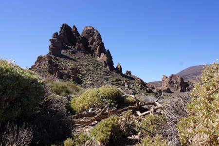garcia: Hike to the Roques de Garcia, Teide National Park, Tenerife, Canary Islands, Spain