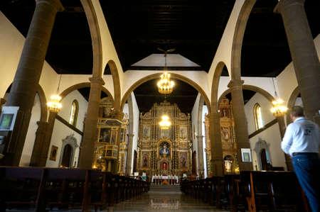 Altar in the Iglesia Nuestra Senora de la Pena de Francia, Puerto de la Cruz, Tenerife, Canary Islands, Spain