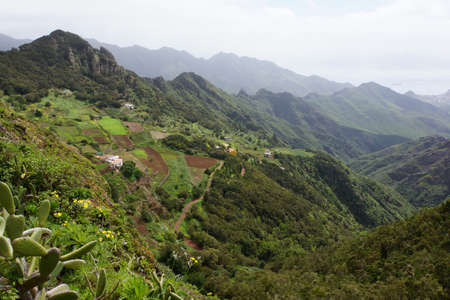 rhinestone: View from the mountain Rhinestone One Anaga, Tenerife, Canary Islands, Spain