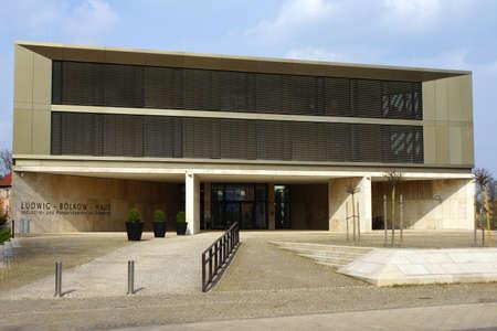 Ludwig Blkow House, la sede de la Cámara de Comercio, Schwerin, Mecklenburg-Vorpommern, Alemania Foto de archivo - 38840654