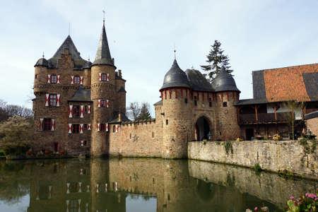 burg: Satzvey Castle, Mechernich, North Rhine-Westphalia