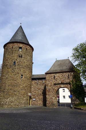 north gate: Wasemer gate, Rheinbach, North Rhine-Westphalia, Germany