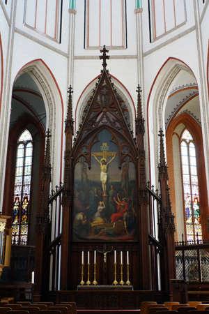 mecklenburg  western pomerania: Schwerin Cathedral, Schwerin, Mecklenburg-Vorpommern, Germany Editorial